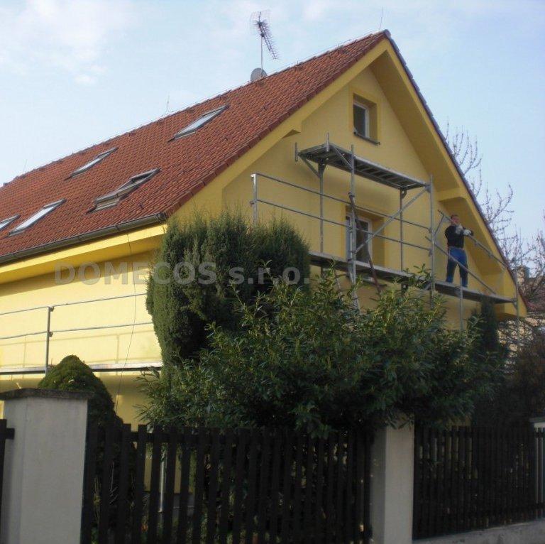 Zateplení domu v Praze - Kbely